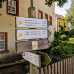 Start am Gerberhaus in Marktredwitz - Goldsteig wandern